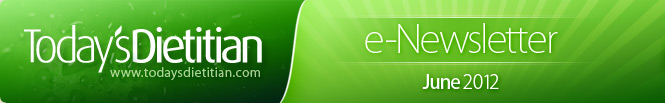 Today's Dietitian e-Newsletter