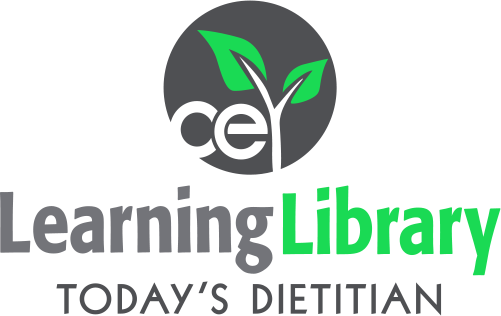 Today's Dietitian CE Learning Library