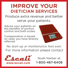 Escali - Improve your dietitian services