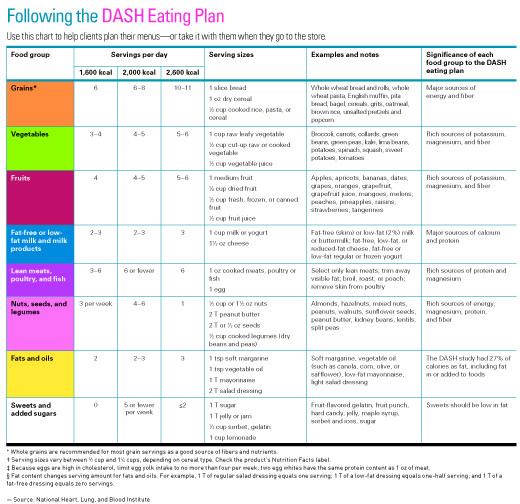 dash diet 2 week meal plan