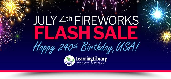 July 4th Fireworks Flash Sale - Happy 240th Birthday, USA!