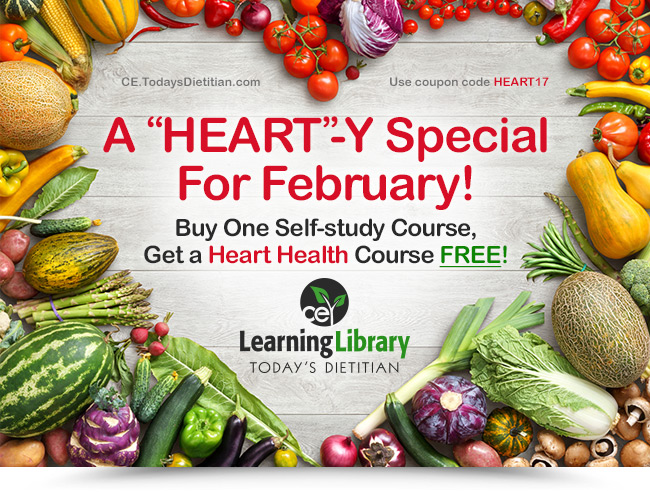 """A""""Heart""""-y Special For February. Buy One Self-study Course, Get a Heart Health Course FREE!"""