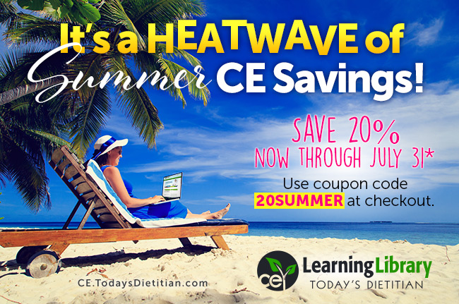 It's a Heatwave of Summer CE Savings!