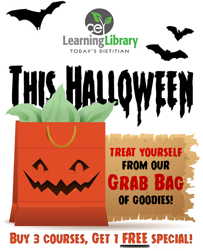 This Halloween, treat yourself from our grab bag of goodies! Buy 3 courses, get 1 FREE!