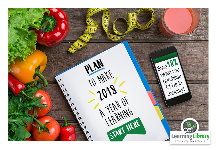 Plan to Make 2018 a Year of Learning. START HERE. Save 18% when you purchase CEUs in January!