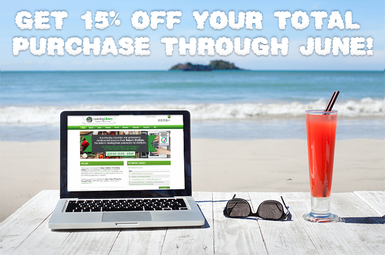 GET 25% OFF YOUR TOTAL PURCHASE THROUGH JUNE!