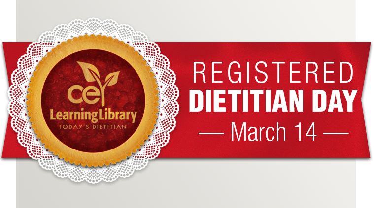 Registered Dietitian Day- March 14th