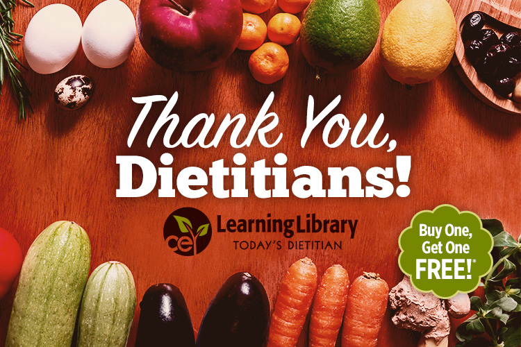 Thank You, Dietitians!