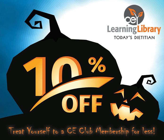 Treat Yourself to a CE Club Membership for less!