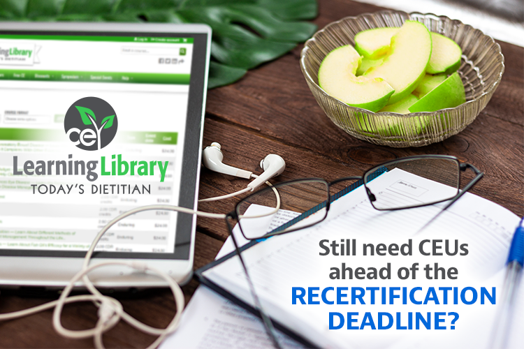 Still need CEUs ahead of the recertification deadline?