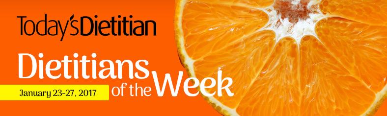 Dietitians of the Week