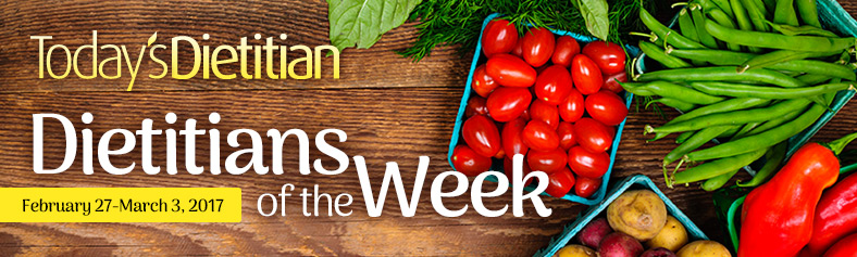 Dietitians of the Week