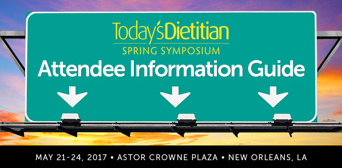 Today's Dietitian Spring Symposium Attendee Information Guide