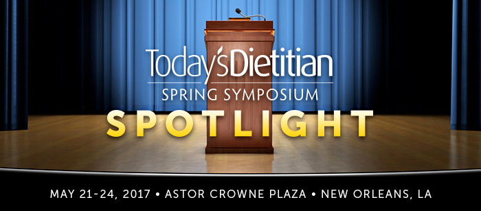 Today's Dietitian Spring Symposium Spotlight: Opening Workshop, Sunday, May 21, 12 - 4:30 PM - Building a Better Blog: An RD's Guide to Starting a Blog, Finding Your Voice, and Perfecting Your Promotion Online - Presented By Regan Miller Jones, RD - 4 CEUs