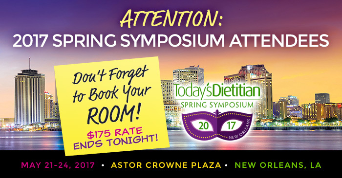 Attention 2017 Spring Symposium Attendees