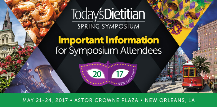 Important Information for Symposium Attendees - 2017 Spring Symposium