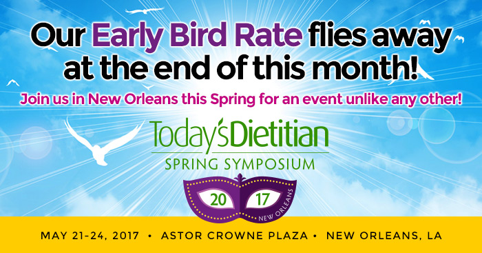 Our Early Bird Rate flies away at the end of this month! Join us in New Orleans this Spring for an event unlike any other!