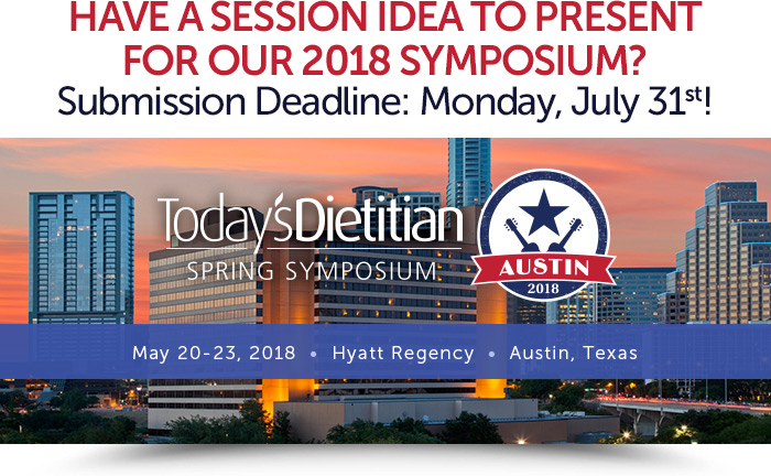 Have a Session Idea to Present for Our 2018 Symposium? Submission Deadline: Monday, July 31st! May 20-23, 2018, Hyatt Regency, Austin, Texas