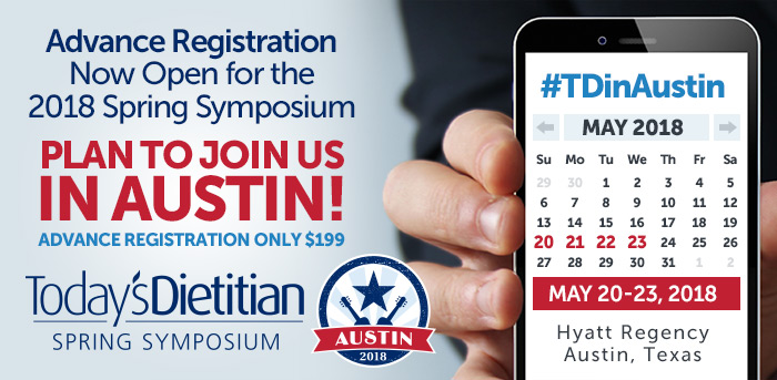 Advance Registration Now Open for the 2018 Spring Symposium. Plan to Join Us in Austin! May 20-23, 2018, Hyatt Regency, Austin, Texas