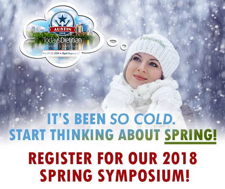IT'S BEEN SO COLD. START THINKING ABOUT SPRING! REGISTER FOR OUR 2018 SPRING SYMPOSIUM!