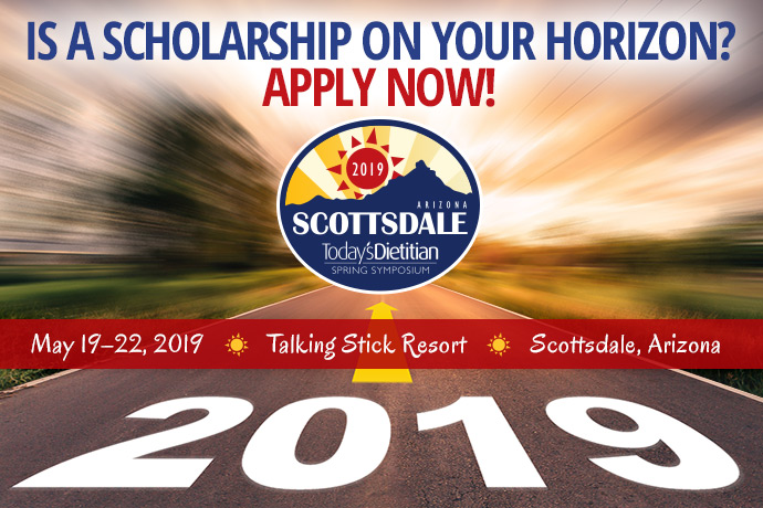 Is a Scholarship on Your Horizon? Apply Now! - 2019 Spring Symposium - May 19-22, 2019, Talking Stick Resort, Scottsdale, Arizona