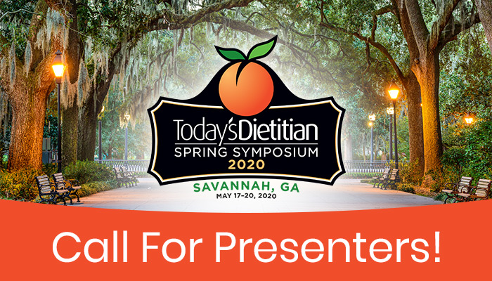 Call for Presenters! - 2020 Spring Symposium - May 17-20, 2020, Savannah, GA