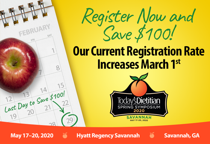 Register Now and Save $100! Our Current Registration Rate Increases March 1st
