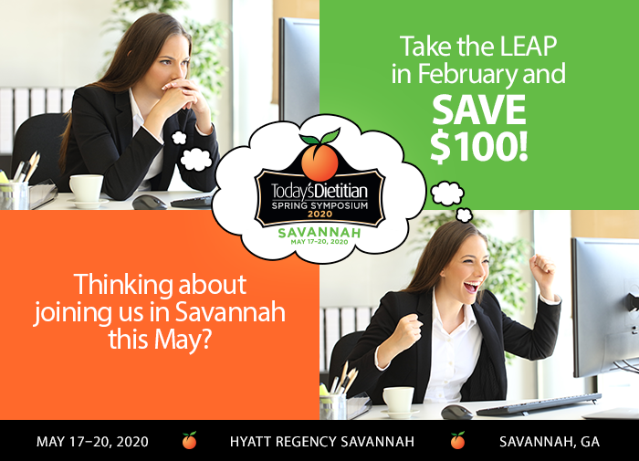 Thinking about joining us in Savannah this May? TAKE THE LEAP IN FEBRUARY & SAVE $100 | May 17-20, 2020, Hyatt Regency Savannah, Savannah, GA