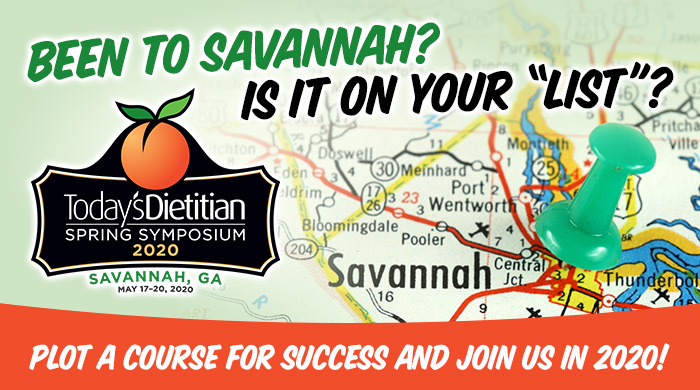 "Been to Savannah? Is it on your ""list""? Plot a course for success and join us in 2020! 2020 Spring Symposium - May 17-20, 2020, Savannah, GA"