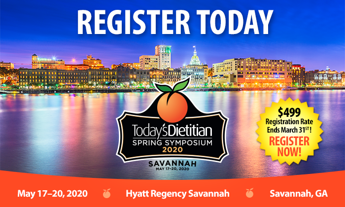 Register Today | $499 Registration Rate Ends March 31st! 2020 Spring Symposium - May 17-20, 2020, Savannah, GA