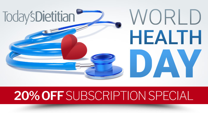 World Health Day 20% Off Subscription Special