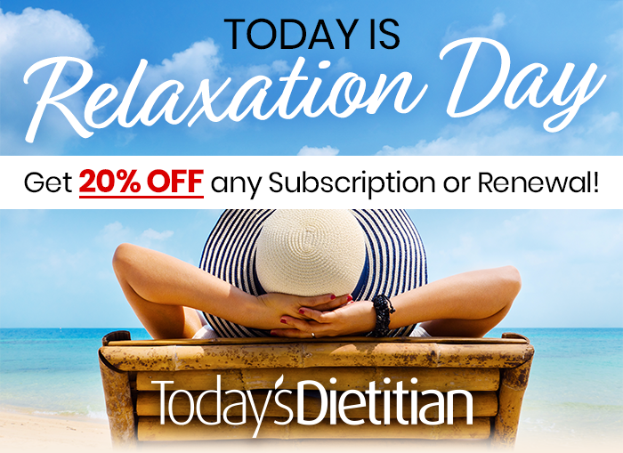 Today is Relaxation Day. Get 20% OFF any Subscription or Renewal!