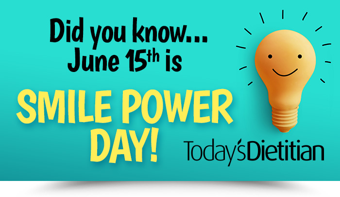 Did you know...June 15th is SMILE POWER DAY!