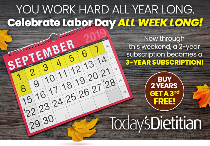 You Work Hard All Year Long. Celebrate Labor Day All Week Long! Now through this weekend, a 2-year subscription becomes a 3-year subscription! Buy 2 Years, Get a 3rd Free!