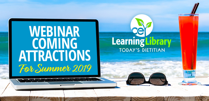 Webinar Coming Attractions For Summer 2019